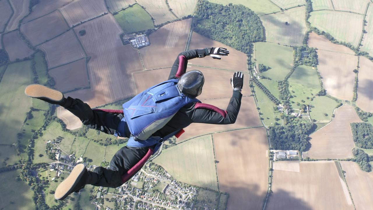 The man was participating in a skydiving competition at the time of the tragedy.