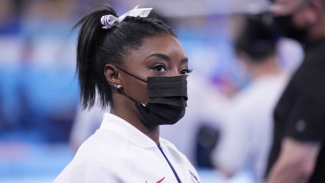 Gymnastics superstar Simone Biles made a shock withdrawal on Tuesday. Picture: Getty Images