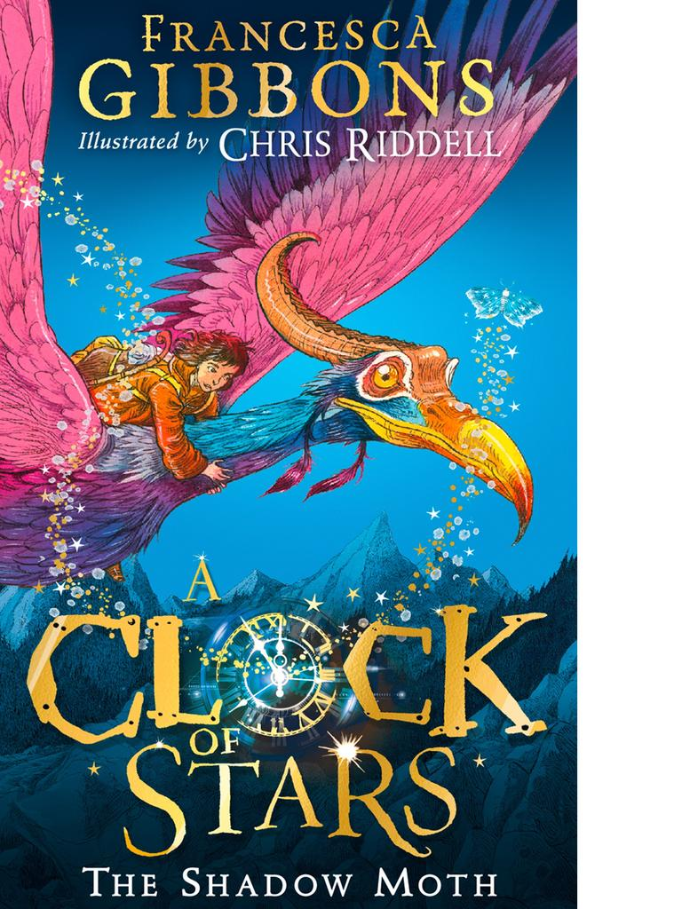 A Clock of Stars: The Shadow Moth by Francesca Gibbons. For Kids News book club