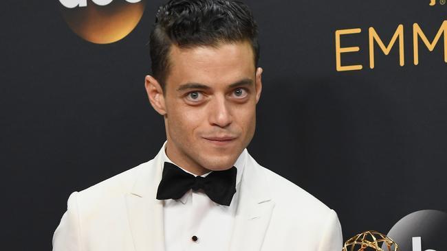 "Rami Malek joked that he's ""terrified"" to be portraying Freddie Mercury."