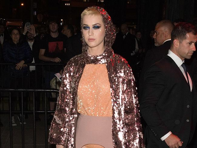 Katy Perry singles usually debut in the Top 10. Until now. Picture: Daniel Zuchnik