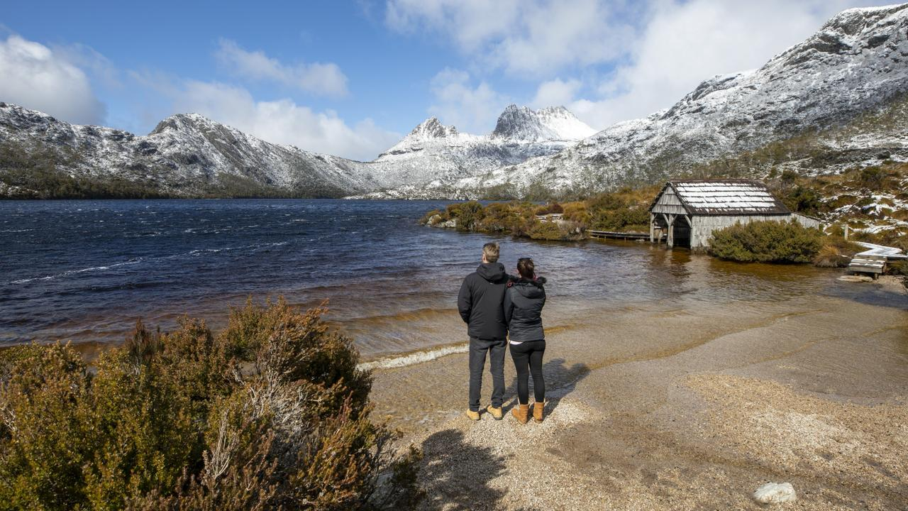 We came away from the trip confused about who we loved more: each other or Tasmania. Picture: Tourism Australia.