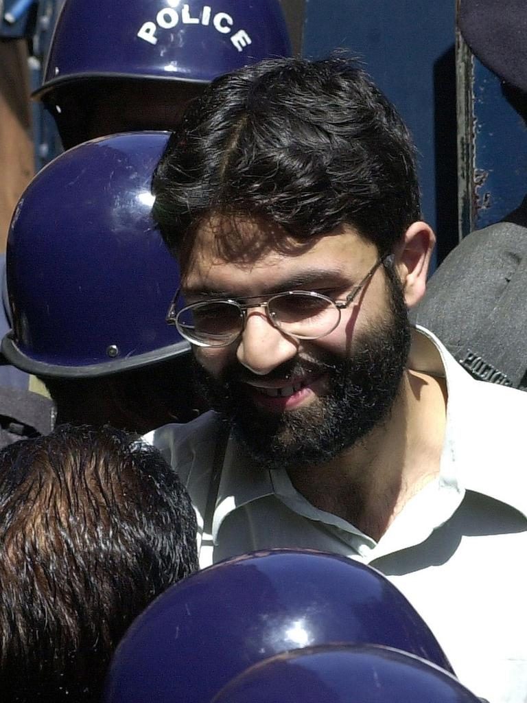 Ahmed Omar Saeed Sheikh. Picture: Aamir Qureshi/AFP