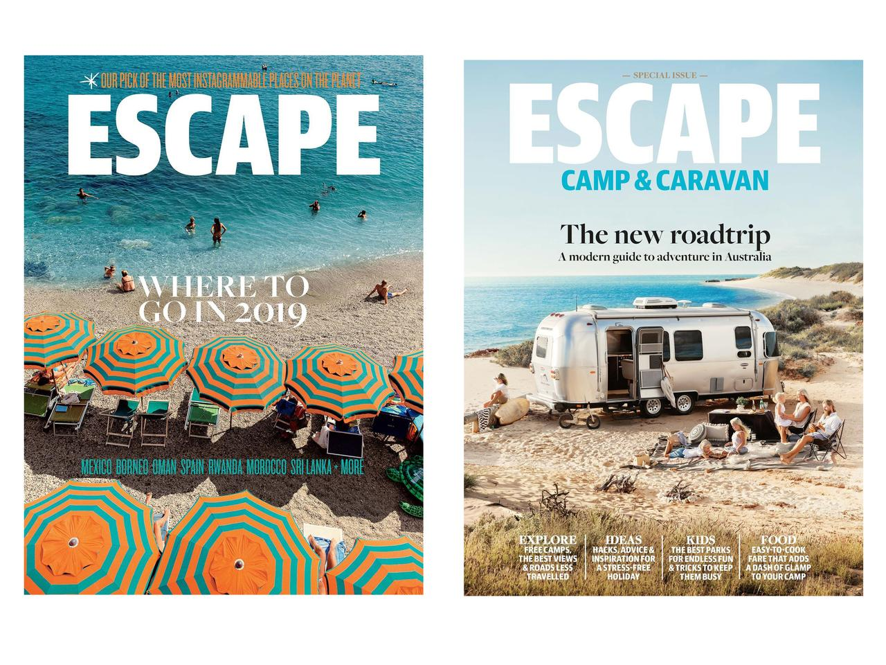 Love Escape? Then don't miss Escape's special editions.
