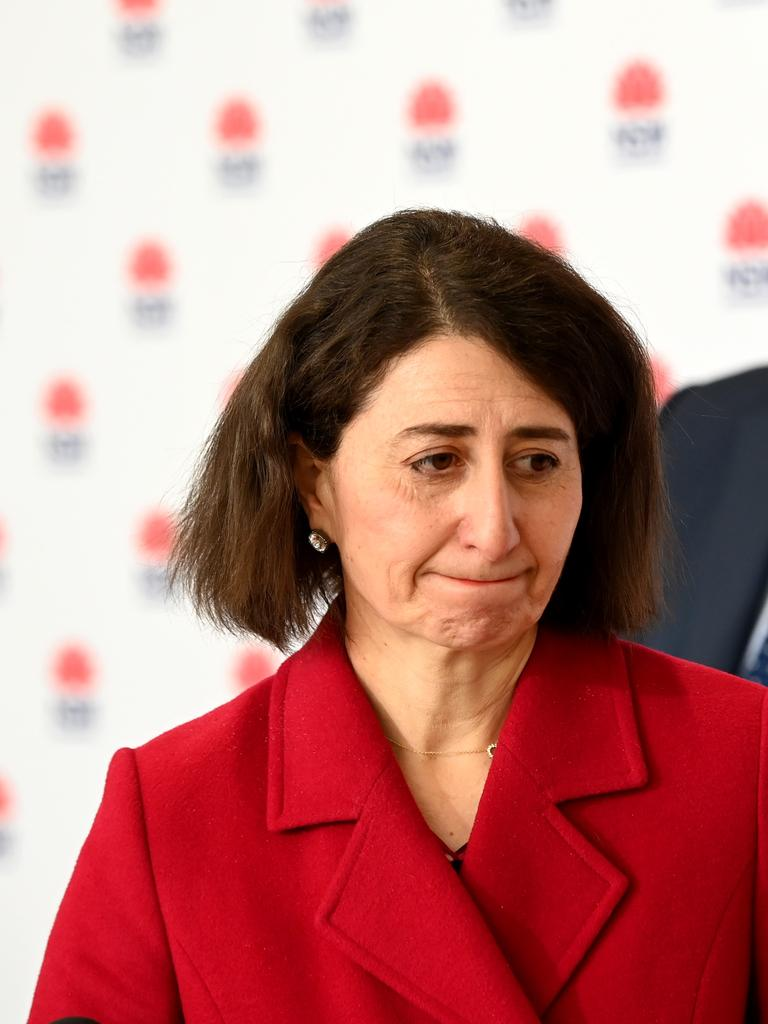 NSW Premier Gladys Berejiklian has faced criticism from Victorian counterpart Daniel Andrews. Picture: NCA NewsWire / Jeremy Piper