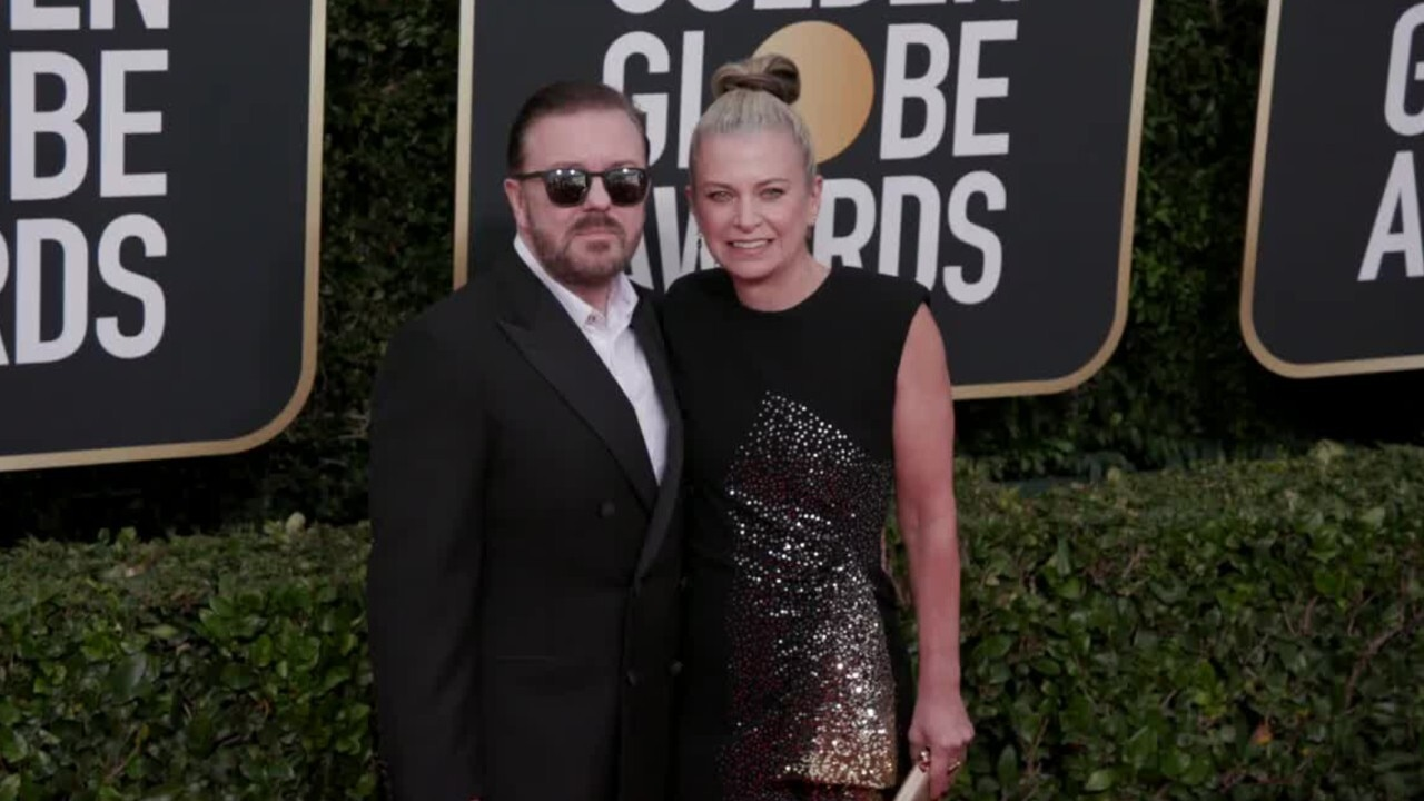 Gervais Skewers Hollywood's hypocrisy during searing Golden Globe monologue