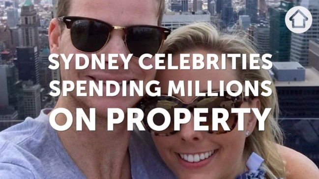 Sydney celebs spending millions on property