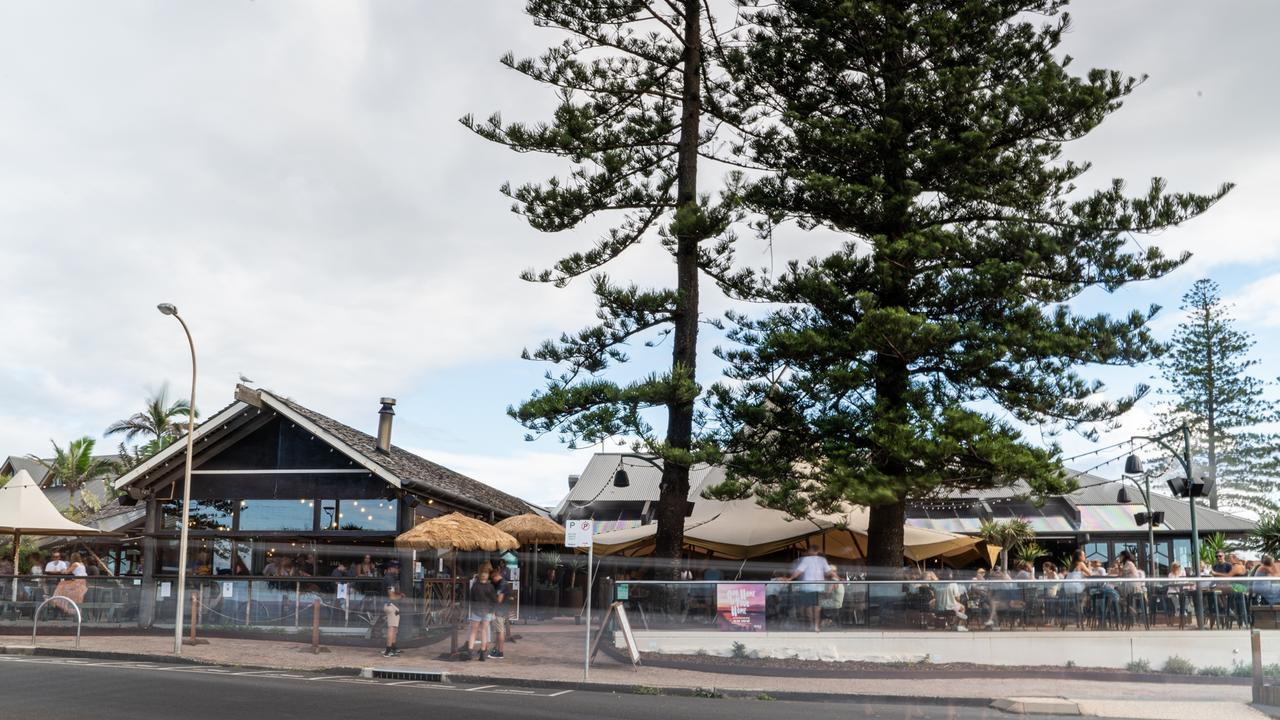 The Beach Hotel in Byron Bay, an area which has seen the biggest rise in prices out of any other area in Australia.