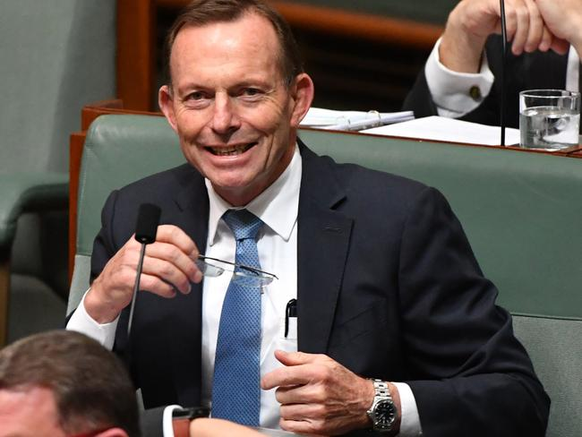 Tony Abbott has had his time, but still has strong conservative support in the party. Picture: AAP Image/Mick Tsikas