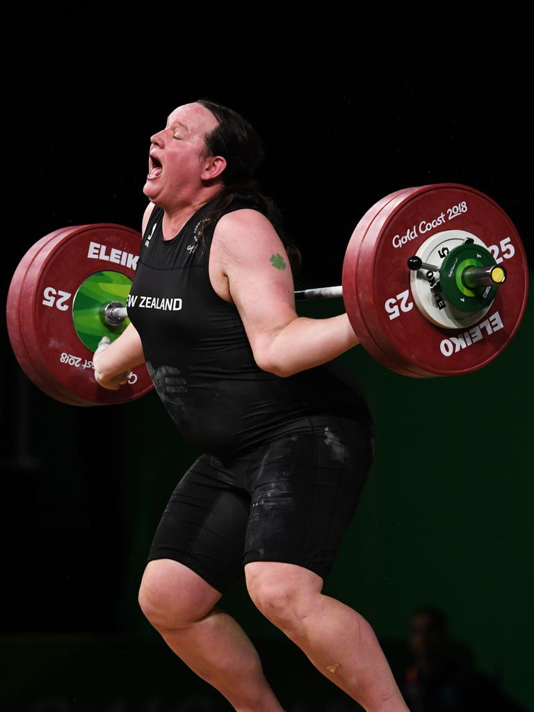 Laurel Hubbard fought to be part of the Games before the injury.