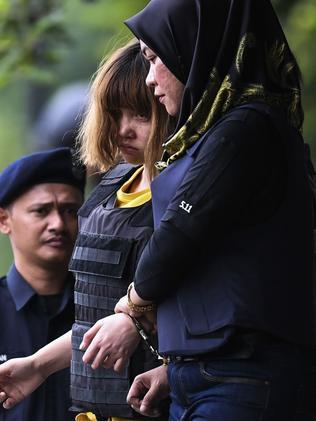 Doan Thi Huong allegedly killed Kim Jong-nam. Picture: AFP/Mohd Rasfan
