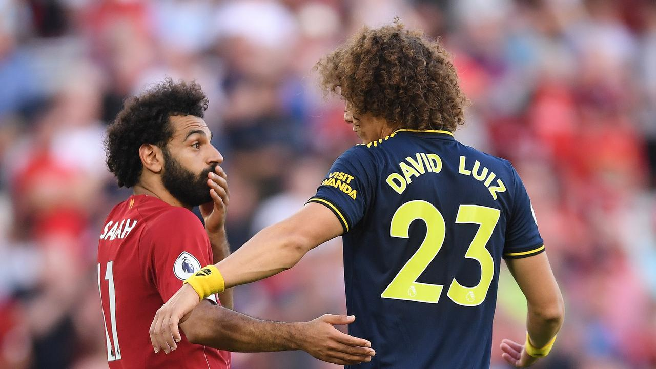 David Luiz gave away a stonewall penalty against Liverpool over the weekend