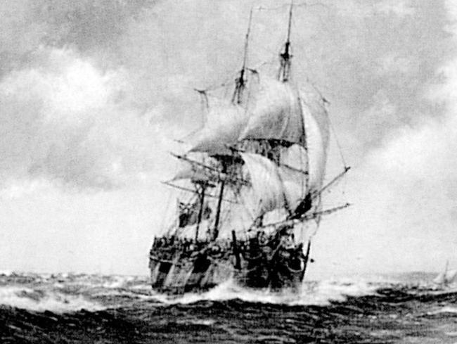 US researchers say they've found Captain Cook's long-lost ship, the HMS Endeavour. Picture: Supplied
