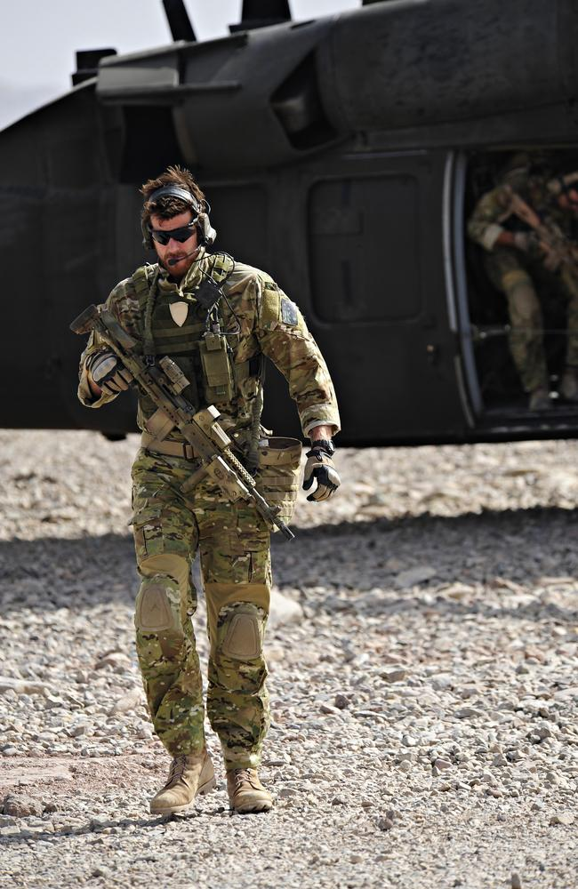 Ben Roberts-Smith on deployment in Afghanistan in 2010 on one of five tours he made for the Australian SAS. Picture: Department of Defence