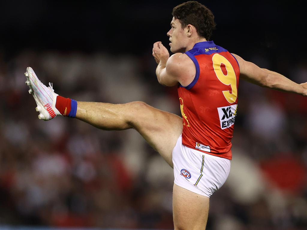 Lachie Neale has battled with injury this season. Picture: Michael Klein