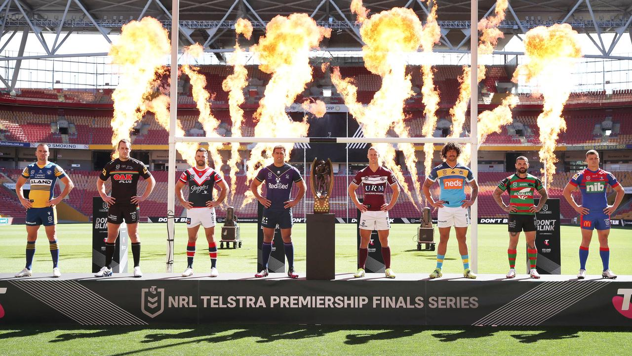 The NRL grand final will be played at Suncorp Stadium in Brisbane ending a 114 years of history. Photo: Liam Kidston