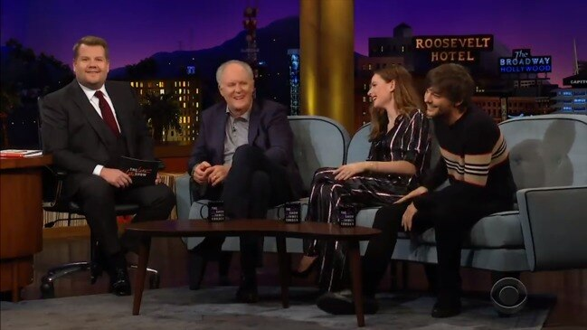James Corden called out by talk show guest (The Late Late Show with James Corden)