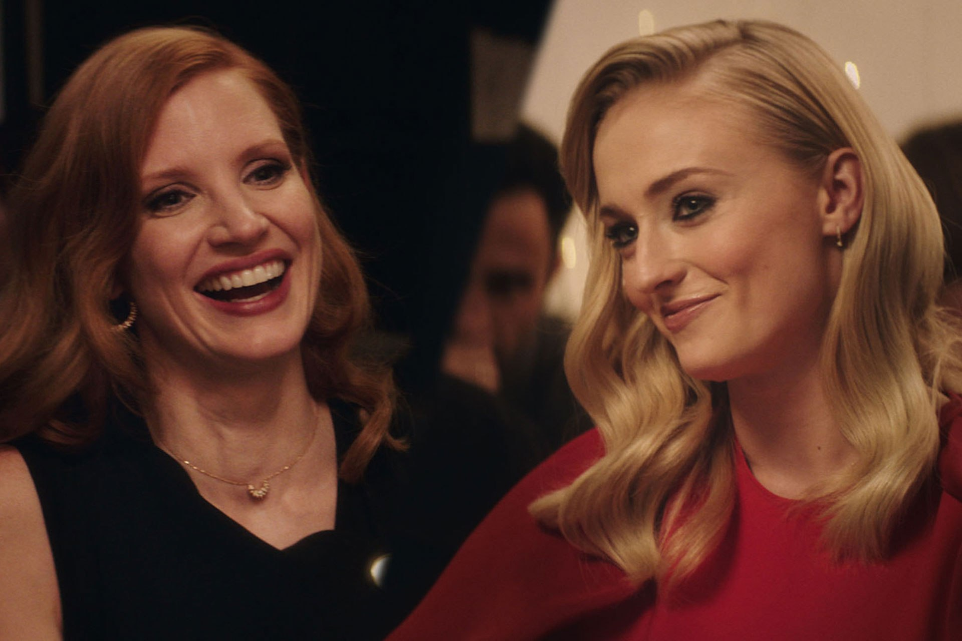 Watch Sophie Turner and Jessica Chastain talk friendship, past roles and future plans over dinner