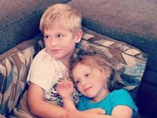 Nine-year-old Hayden King and Harper Edens, five, became the innocent victims of their mother's evil plan