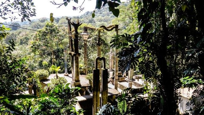 """Las Pozas - Xilitla, Mexico Named for the nine pools scattered about what was a coffee plantation, a trip to Las Pozas is a journey through a landscape of structures and structures within a """"Surrealist Xanadu"""" of a tropical garden.Picture: Lucy Niet / Flickr"""