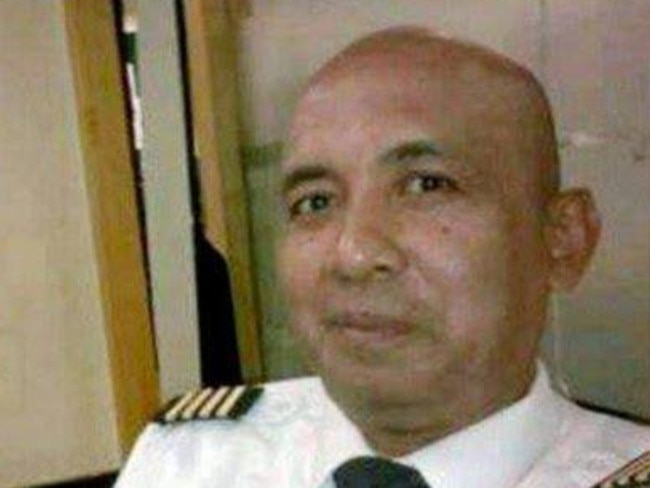 Pilot Zaharie Ahmad Shah who was flying MH370. Picture: Supplied