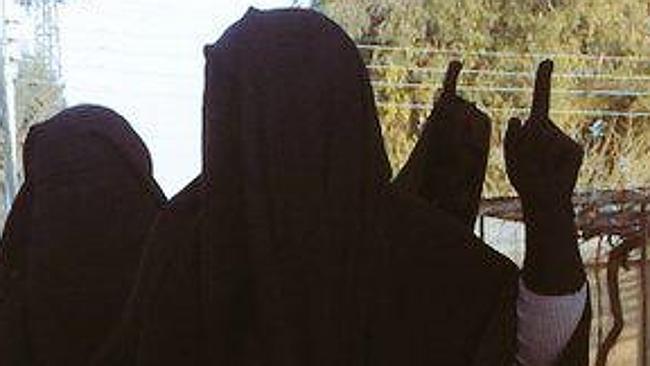 Australian Jihadi Women in Raqqa Syria