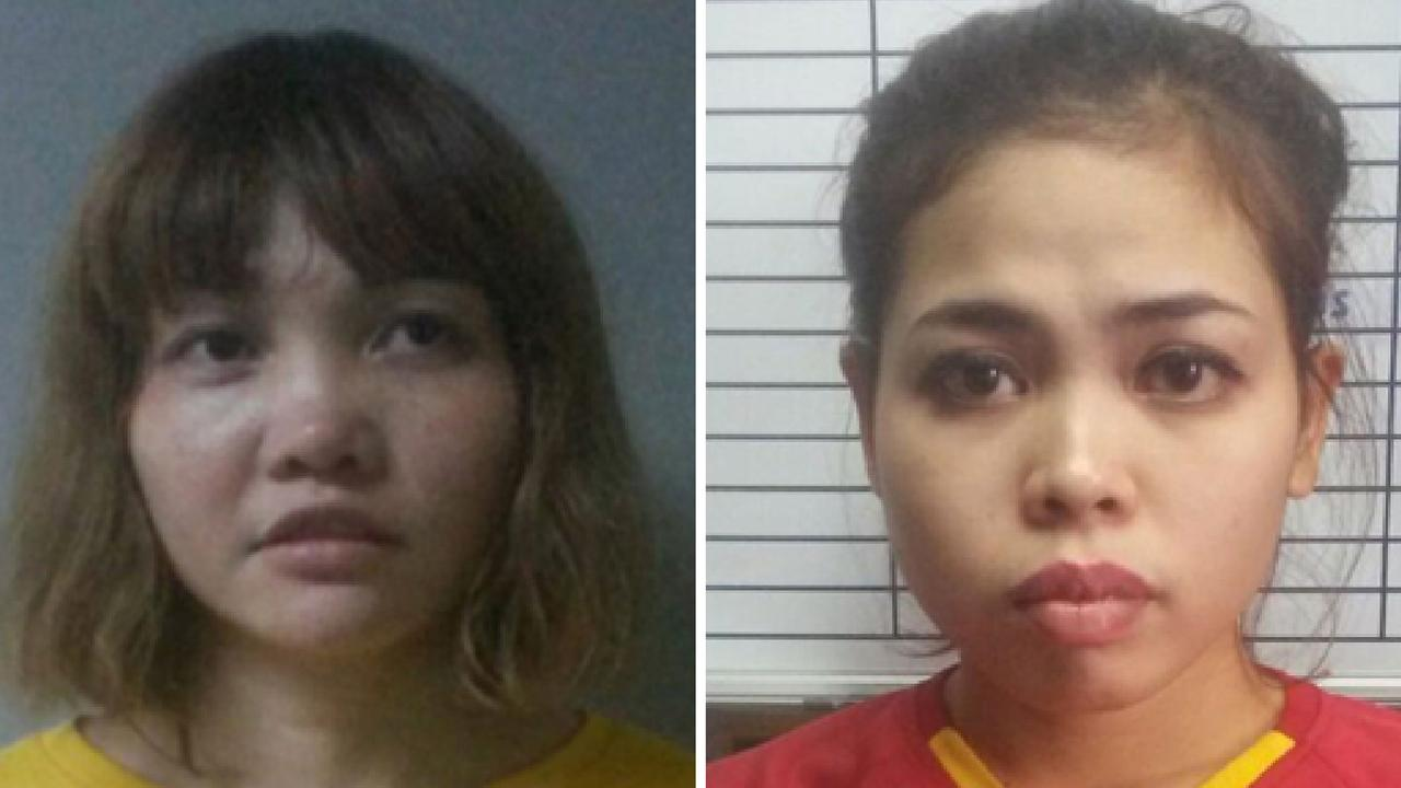 The two women were duped into murdering the dictator's half-brother. Picture: AFP Photo/Royal Malaysian Police