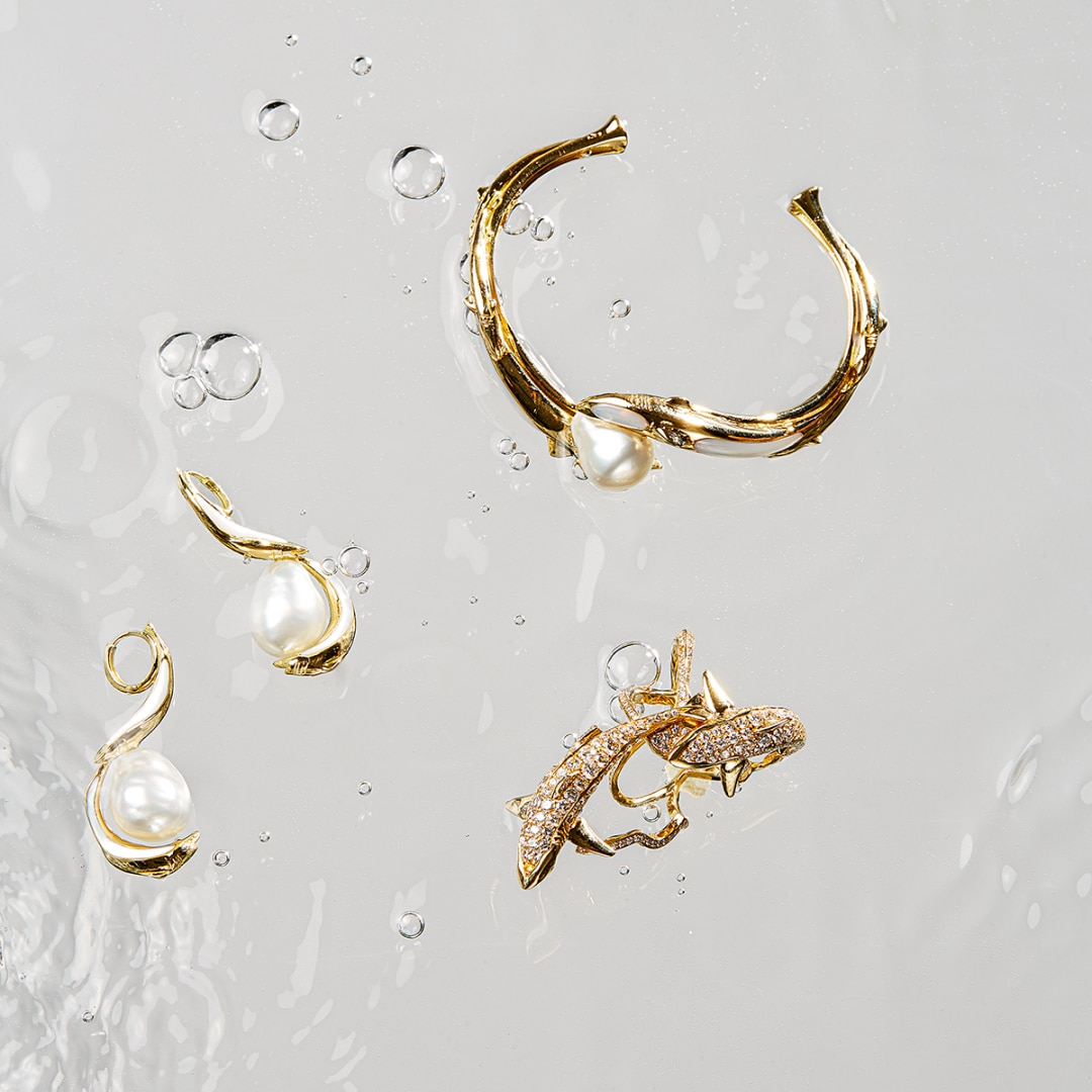 Life aquatic: Jordan Askill's new jewellery collection is inspired by the ocean