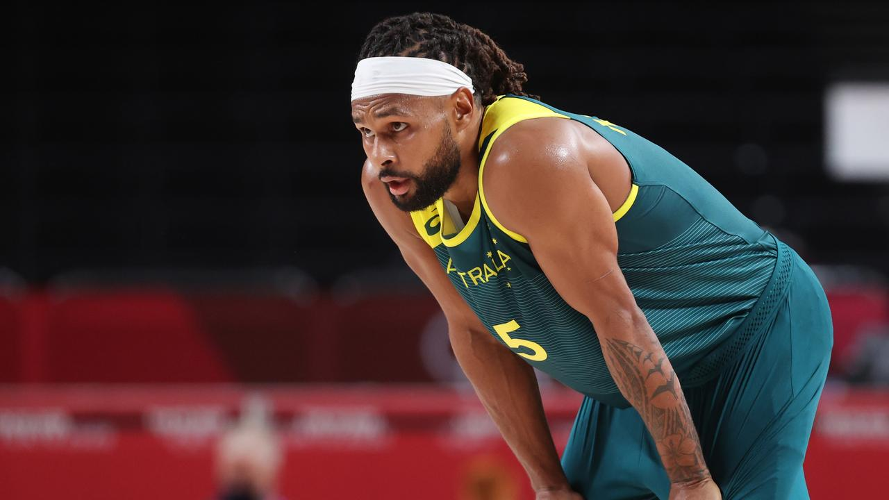 Patty Mills will be back in action with the Boomers. (Photo by Gregory Shamus/Getty Images)