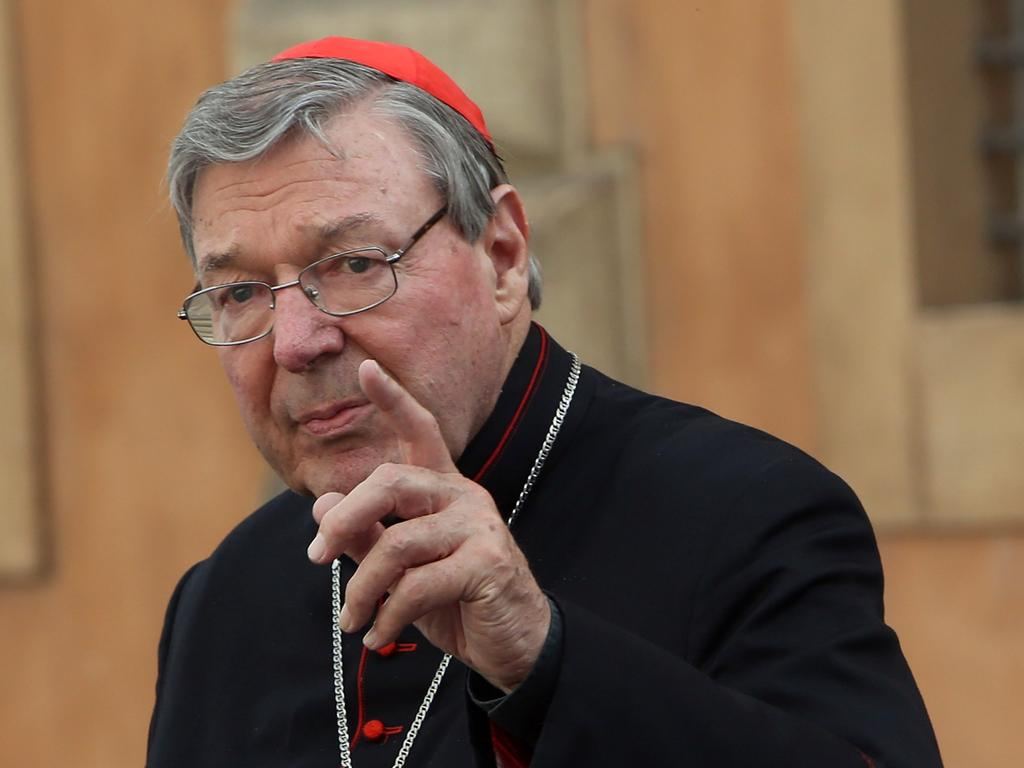 Pell will be sentenced tomorrow. Picture: Franco Origlia/Getty Images