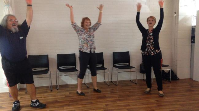 Laughing Yoga launches at Redcliffe