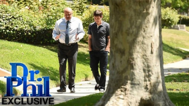 Dr Phil, who did a three-part interview with JonBenet's brother Burke, said his smile during the sit-down was nothing more than a nervous twitch. Picture: Dr. Phil