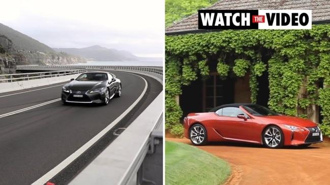 Driven: Lexus' range-topping LC500 Convertible