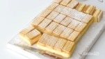 Lemon Crisp custard slice