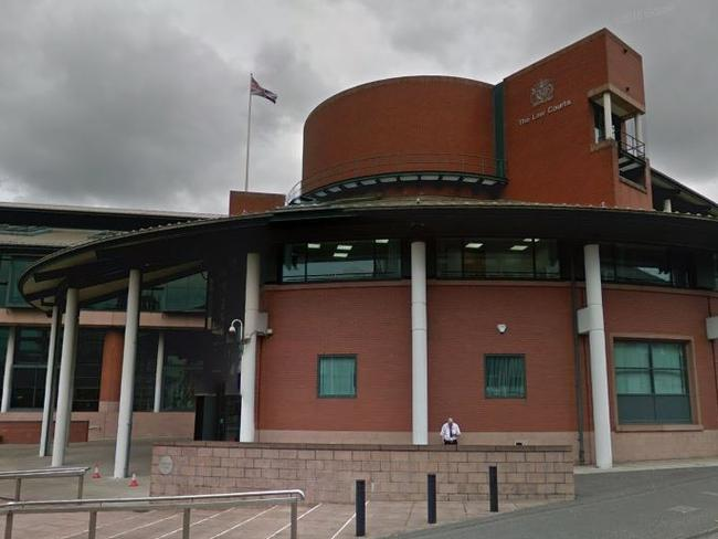 The case was heard at Preston Crown Court in England. Picture: Google Maps