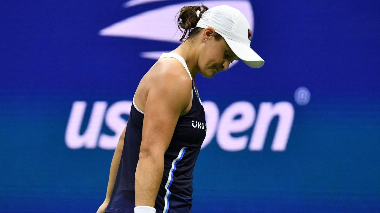 Ashleigh Barty faces an uphill challenge at the WTA Finals. (Photo by Ed Jones/AFP)