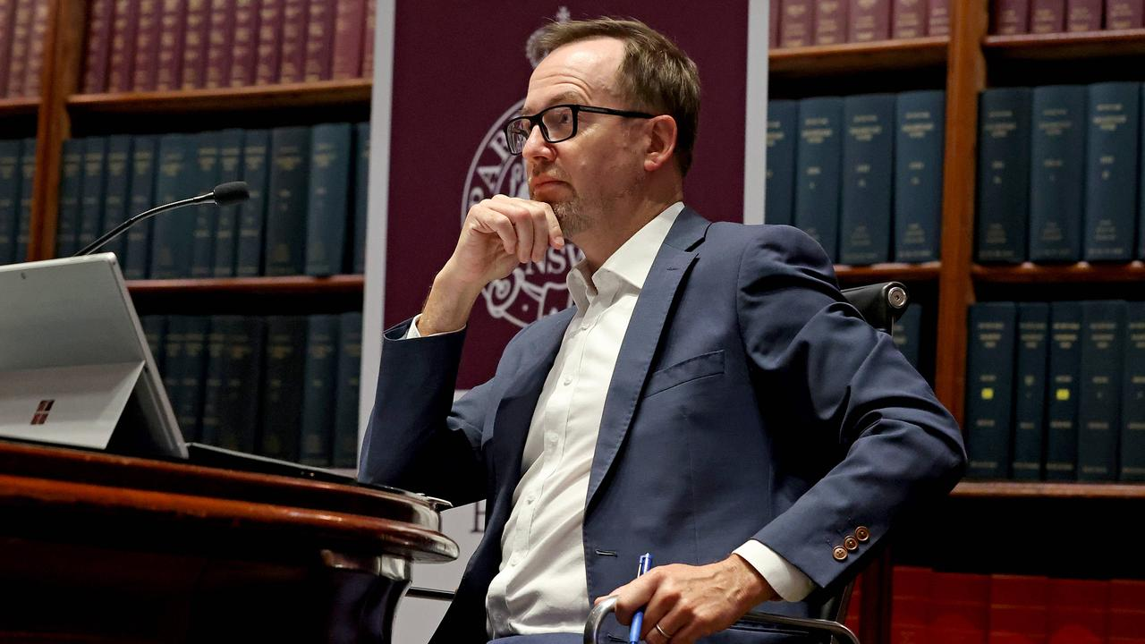 """Greens MP David Shoebridge called the proceedings a """"coup"""". Picture: NCA NewsWire / Dylan Coker"""