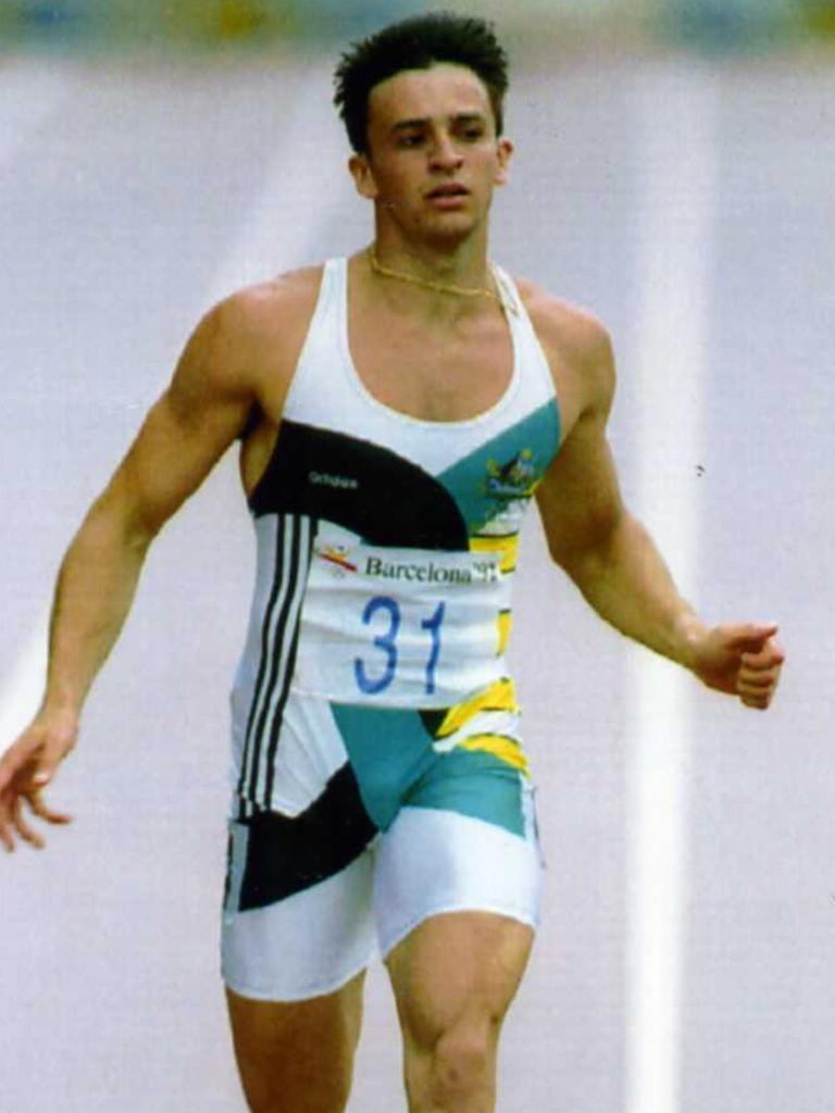 Capobianco competing in 1992. Copyright: Denis Paquin, AP Photo)