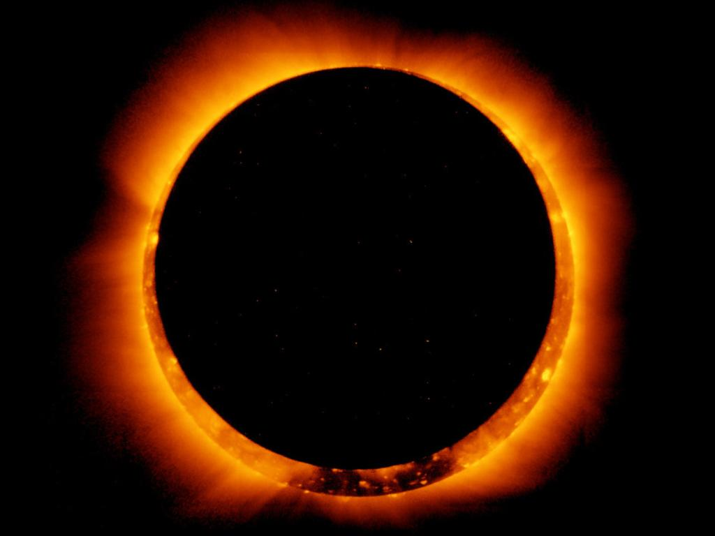 Ring of fire annular eclipse. Getty
