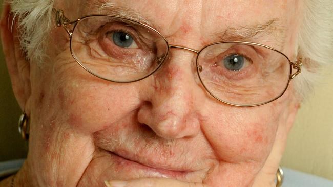 Merle Fidler of Mansfield served with the air force during WWII. Picture: Richard Walker