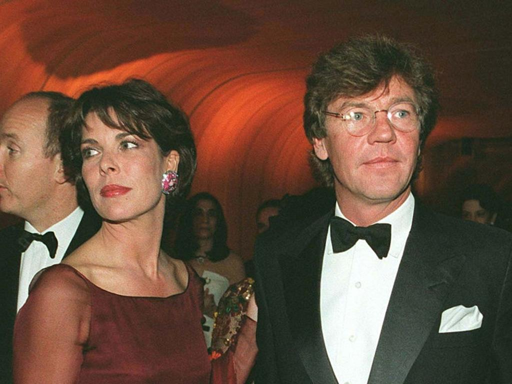 Caroline of Monaco and Ernst-August de Hanovre. Picture: Stephane Cardinale/Sygma via Getty Images
