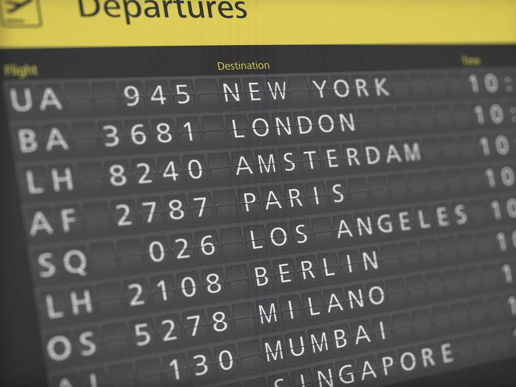 Airlines can be creative with their flight numbers, including numbers they like and ones they want to avoid. Picture: Supplied