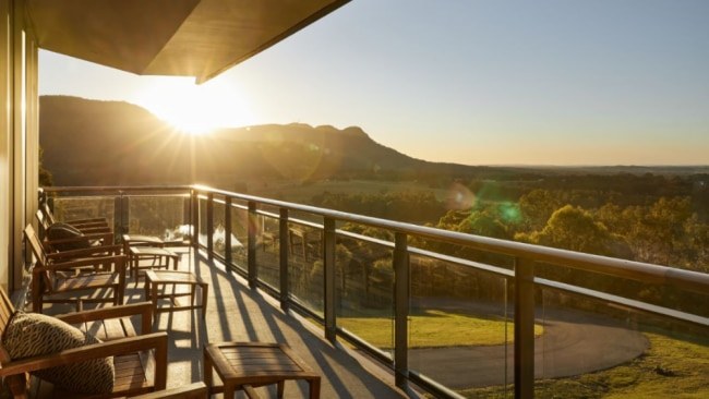 The view itself is enough to dial back your stress levels. Image: Supplied