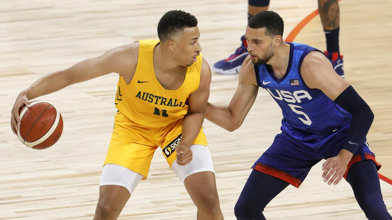 When is Boomers vs USA in the Olympics on? Aussies say they can stop USA's $3.4b hoops juggernaut