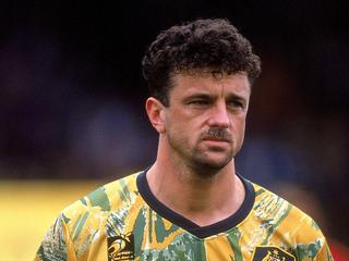 Current Socceroos boss Graham Arnold in his playing heyday.
