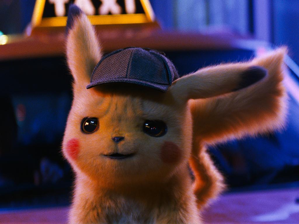 A scene from Pokemon: Detective Pikachu. Picture: Warner Bros via AP