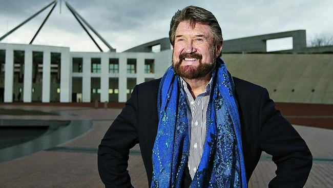 Independent Senator Derryn Hinch has had a win with the Federal Government announcing it will develop new measures to ban paedophiles from travelling overseas. Picture: Kym Smith.