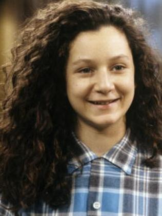 Sara Gilbert in 1990. Picture: Supplied