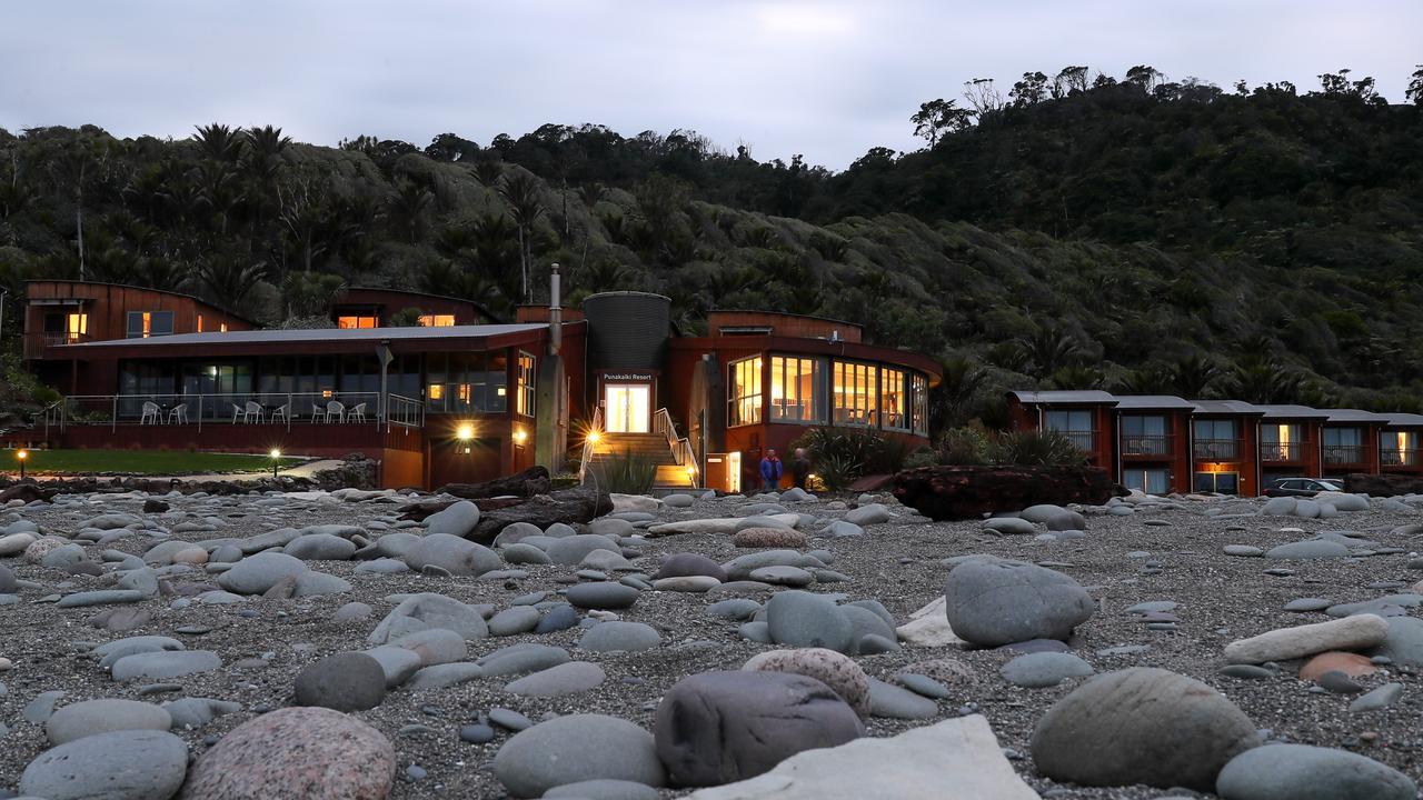 Punakaiki Resort is right on the beach. Picture: Simon Watts/BW Media
