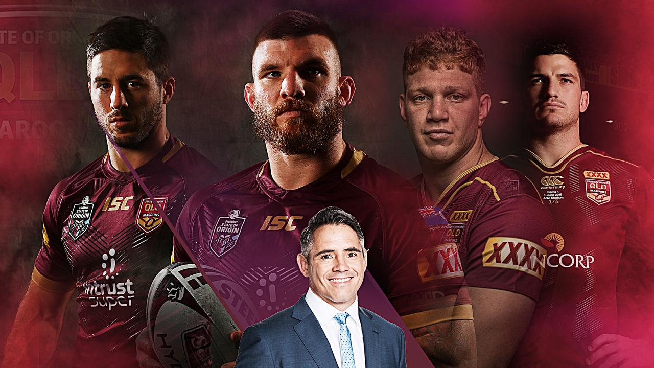 Corey Parker has picked three debutants in his Maroons side for Origin I.